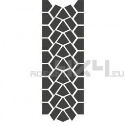 Adesivo impronta pneumatico MUD-01