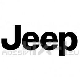 Adesivo logo scritta Jeep