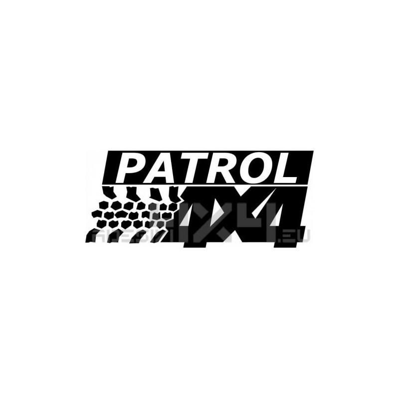 Adesivo prespaziato per auto nissan patrol 4x4 for Nissan offerte speciali