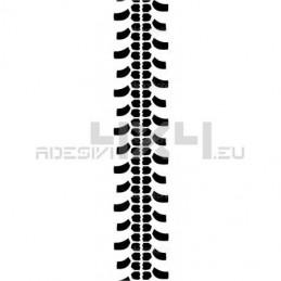 Adesivo impronta pneumatico EXTREME L
