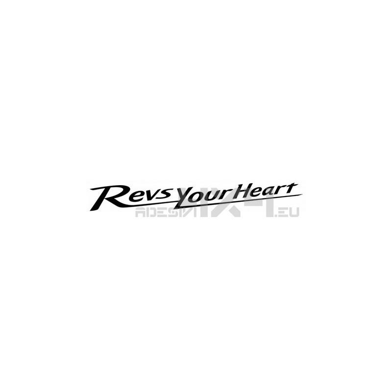 343 Adesivo Yamaha Revs Your Heart
