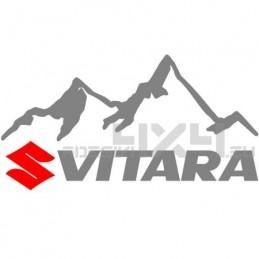 Adesivo 4x4 montagne suzuki vitara