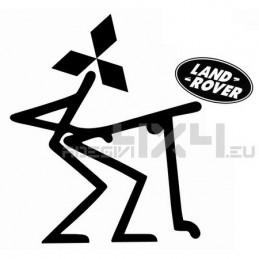 Adesivo mitsubishi vs land rover