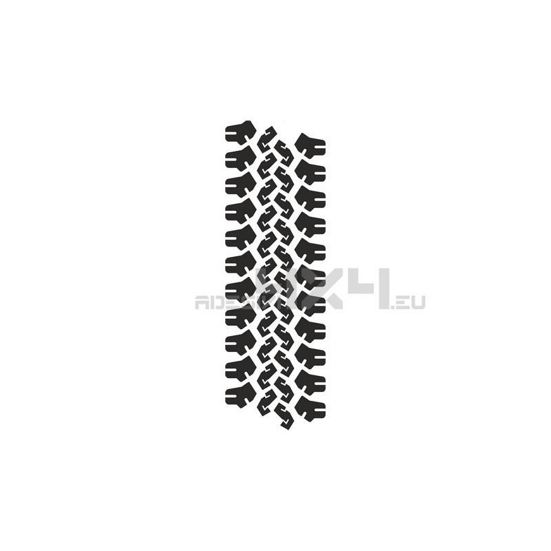Adesivo impronta pneumatico mud-04