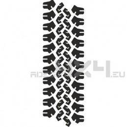 Adesivo impronta pneumatico MUD-04 L