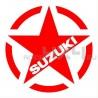 Adesivo stella us army SUZUKI v1 20x20cm