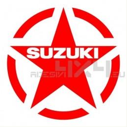 Adesivo stella us army SUZUKI l