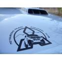 Adesivo Mitsubishi pajero evolution club