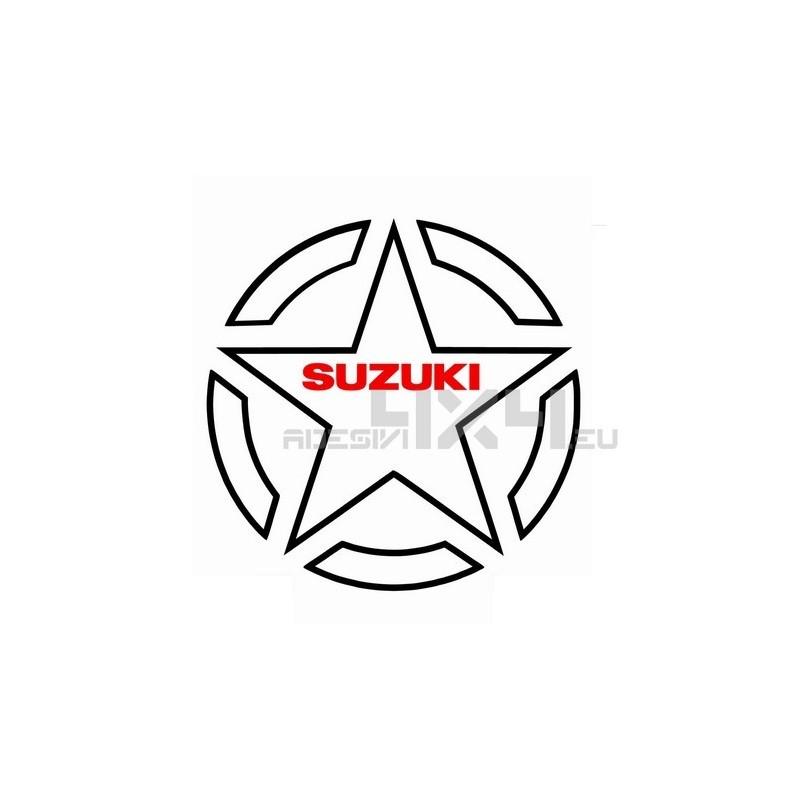 777 Adesivo Stella Contorno Us Army Suzuki 30cm