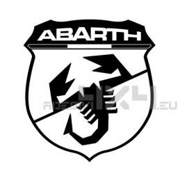 Adesivo scorpione ABARTH scudeto XXL
