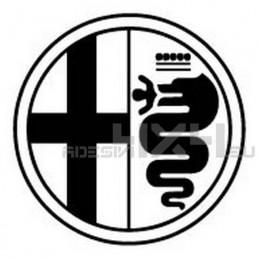 Adesivo logo alfa romeo