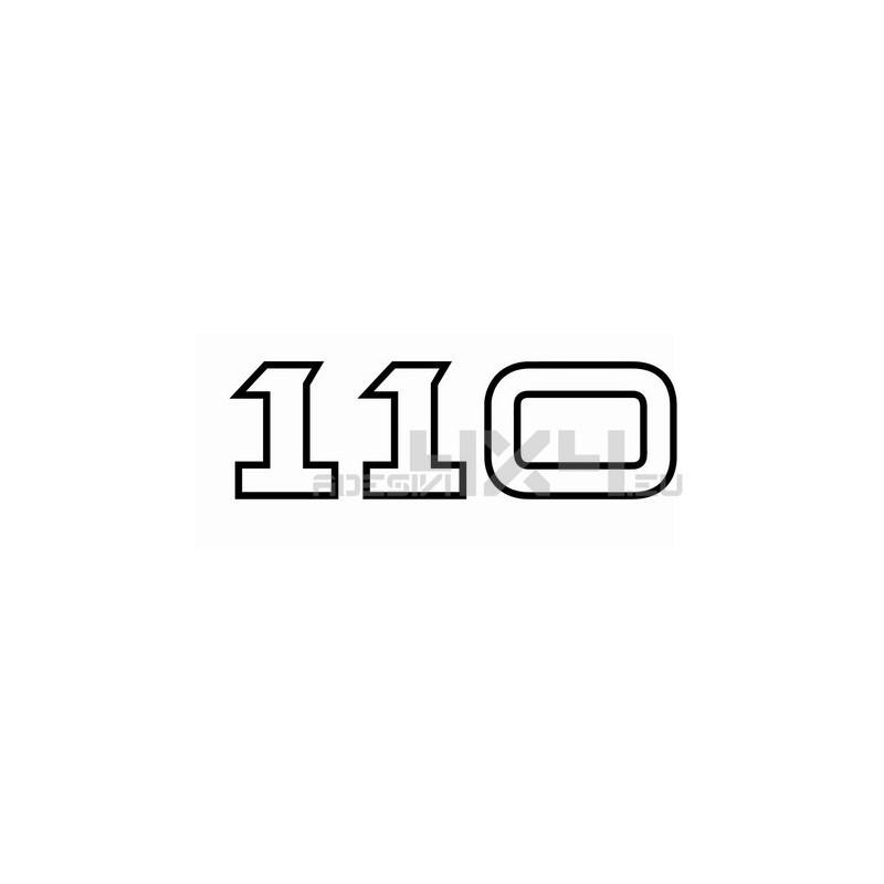 Adesivo DEFENDER scritta 110