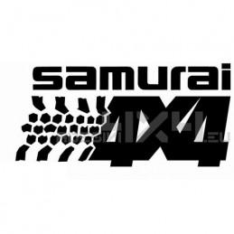 Adesivo Suzuki Samurai 4x4 v2