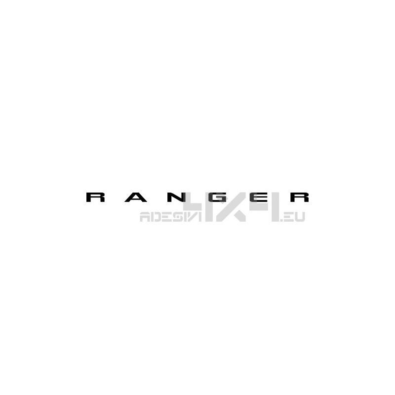 Adesivo ford scritta RANGER mod2
