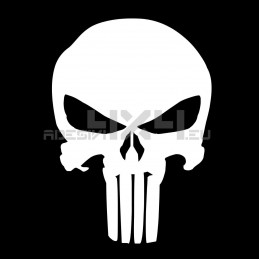 Adesivo Teschio THE PUNISHER