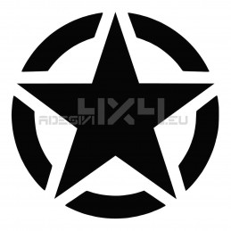 Adesivo stella US ARMY