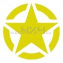 Adesivo stella US ARMY 20x20cm