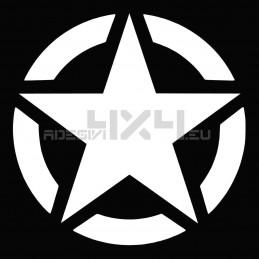 Adesivo stella US ARMY 40x40cm