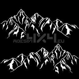 Adesivo montagne