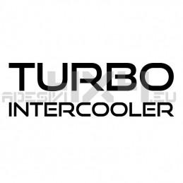 Adesivo TURBO INTERCOOLER mod.a
