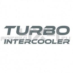Adesivo TURBO INTERCOOLER mod.b