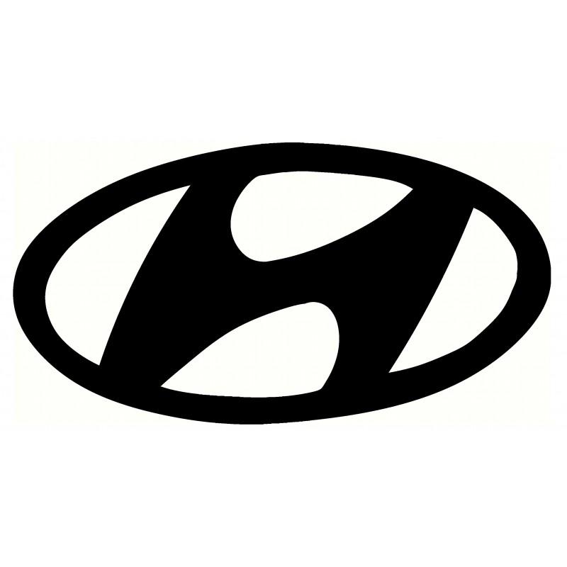 Adesivo logo Hyundai