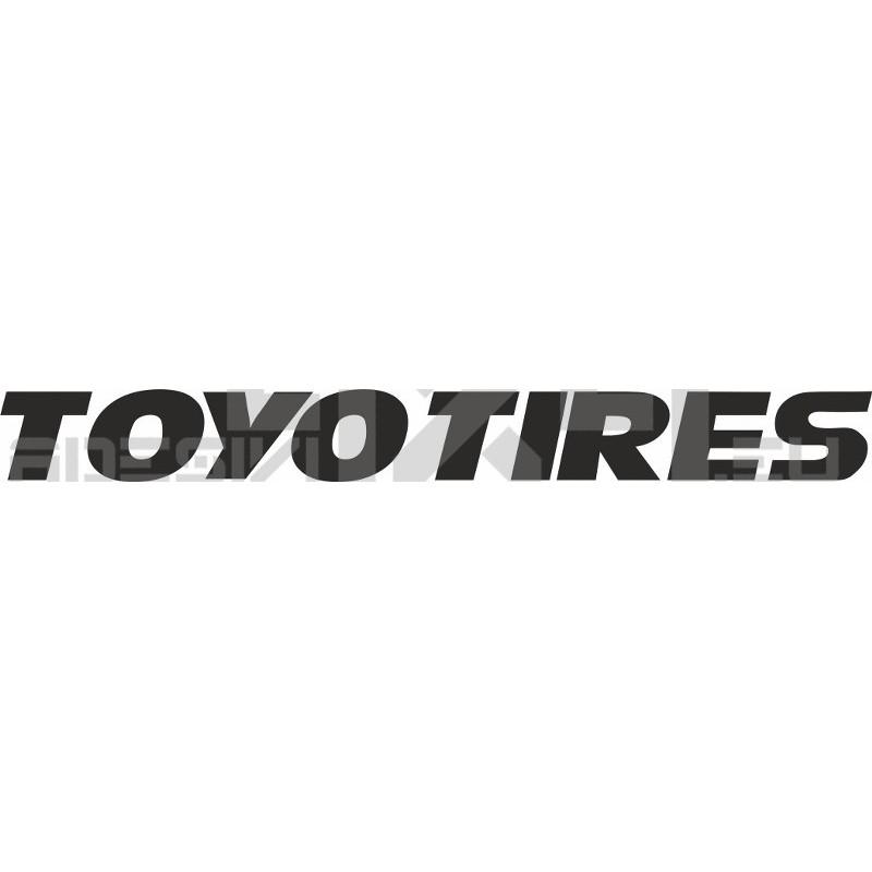 Adesivo toyo tires logo