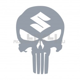 Adesivo Teschio THE PUNISHER SUZUKI