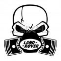 Adesivo Skull Piston gas mask Land Rover