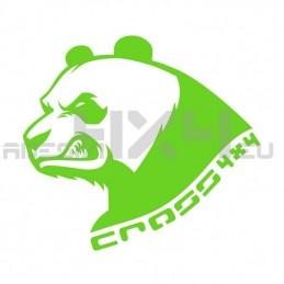 Adesivo Panda cross 4x4