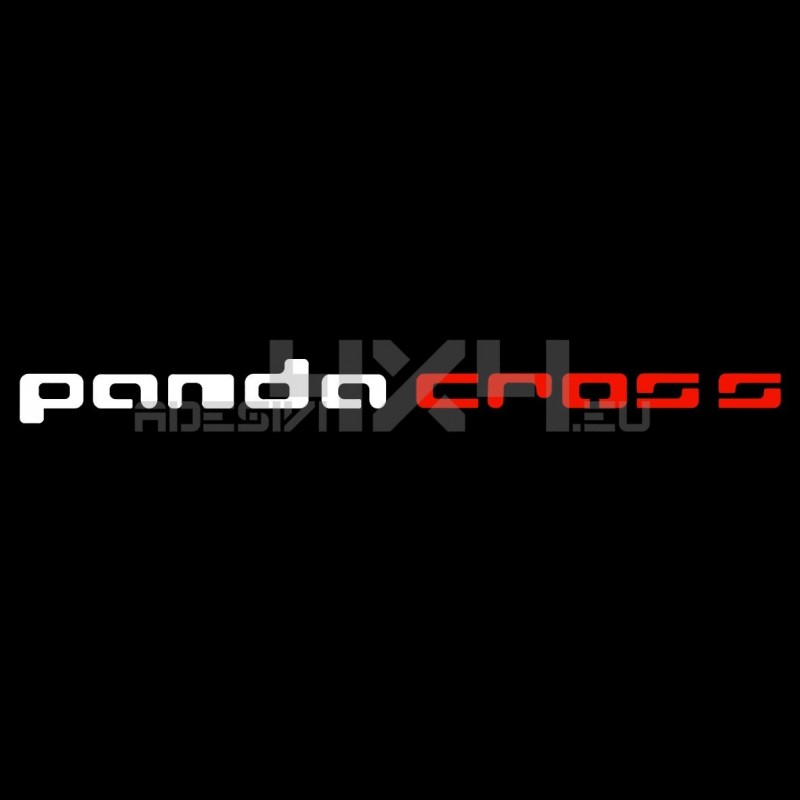 Adesivo parabrezza Panda Cross