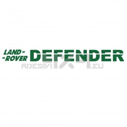 Adesivo PARABREZZA land rover DEFENDER