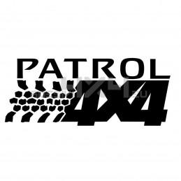 Adesivo NEW Nissan Patrol 4x4