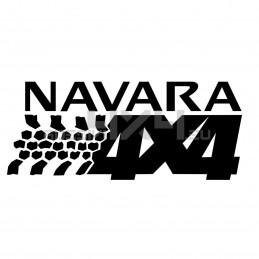 Adesivo NEW Nissan NAVARA 4x4