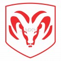 Adesivo logo DODGE