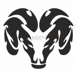 Adesivo logo DODGE v2