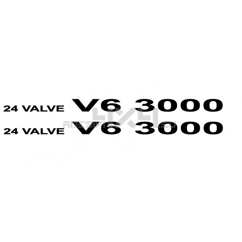 Adesivo 24 valve V6 3000