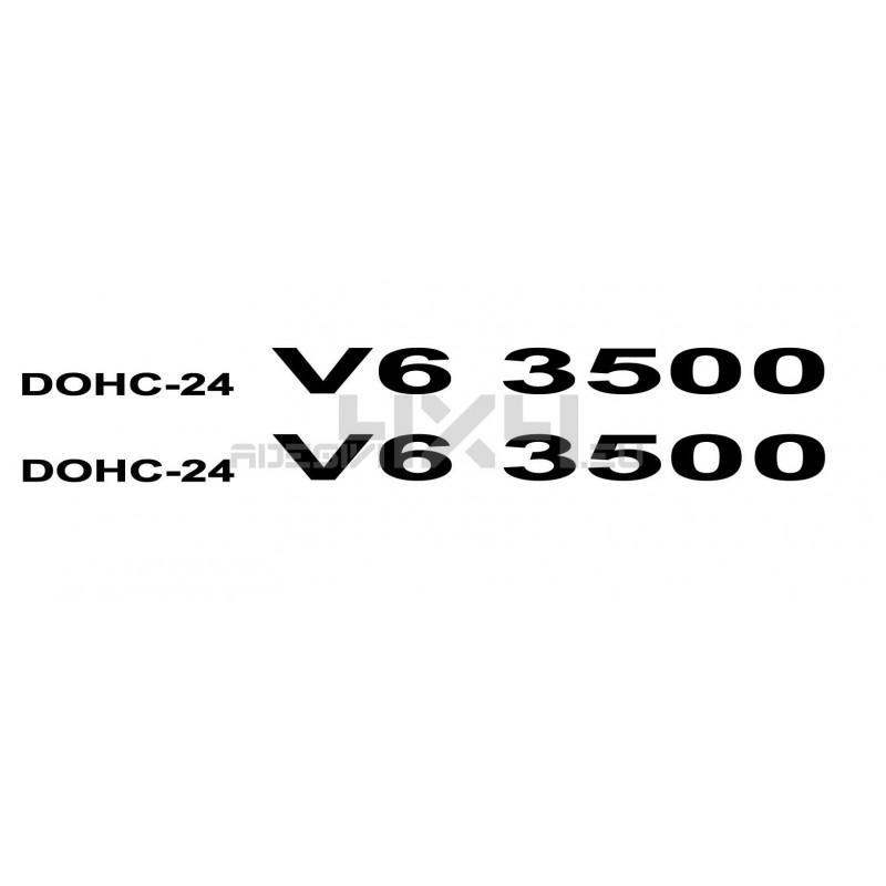 Adesivo dohc-24 V6 3500