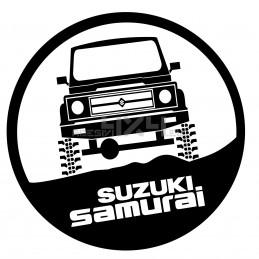 Adesivo cerchio SUZUKI samurai