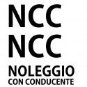 Adesivo kit scritte NCC