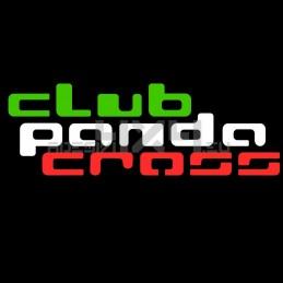 Adesivo scritta club Panda CROSS