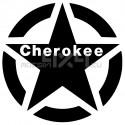 Adesivo stella us army JEEP cherokee