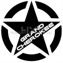 Adesivo stella us army JEEP grand cherokee