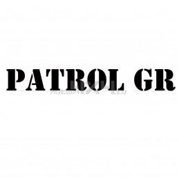 Adesivo nissan patrol GR scritta us army