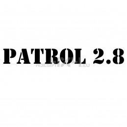 Adesivo nissan patrol 2.8 scritta us army