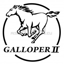 Adesivo logo Hyundai GALLOPER