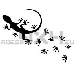 Adesivo geco impronte