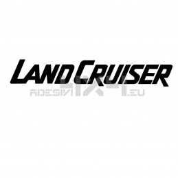 Adesivo toyota scritta Land Cruiser
