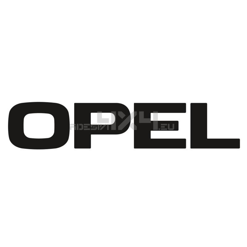Adesivo opel scritta