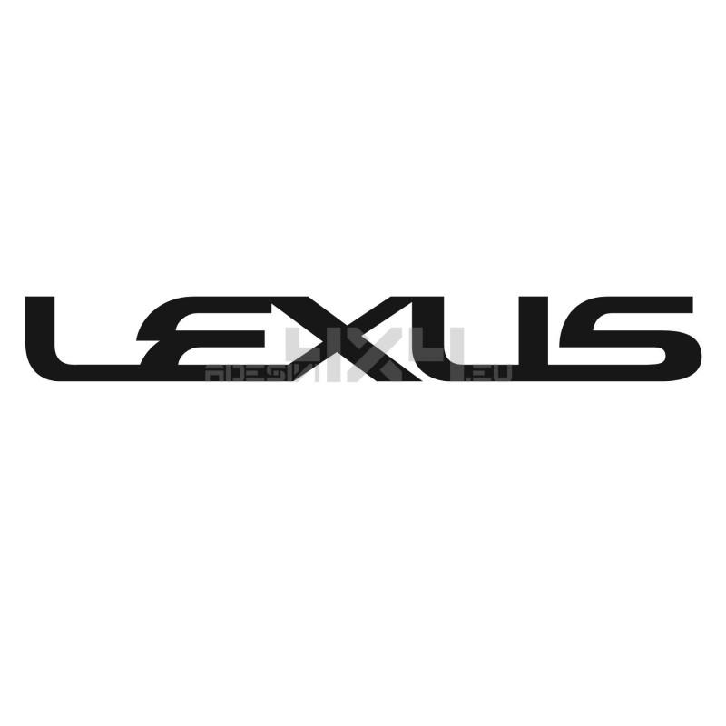 Adesivo LEXUS scritta